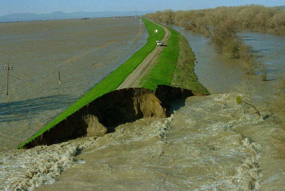 Levee break, 1997