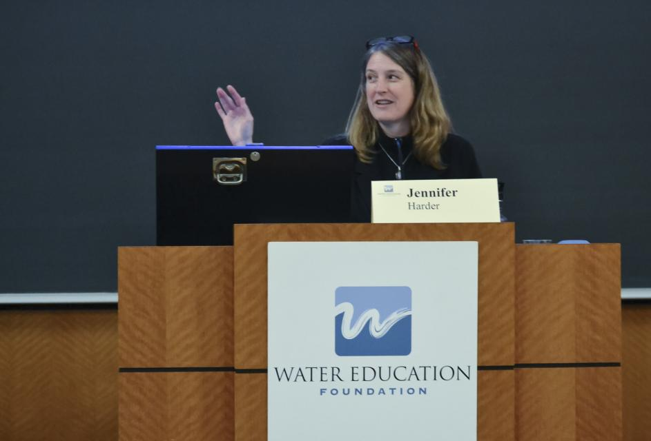 McGeorge Law School professor Jennifer Harder will lead a Water 101 session on California  water law on Feb. 7.